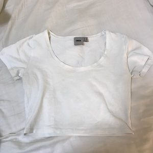 ✨ Asos White Short Sleeve Crop Top ✨